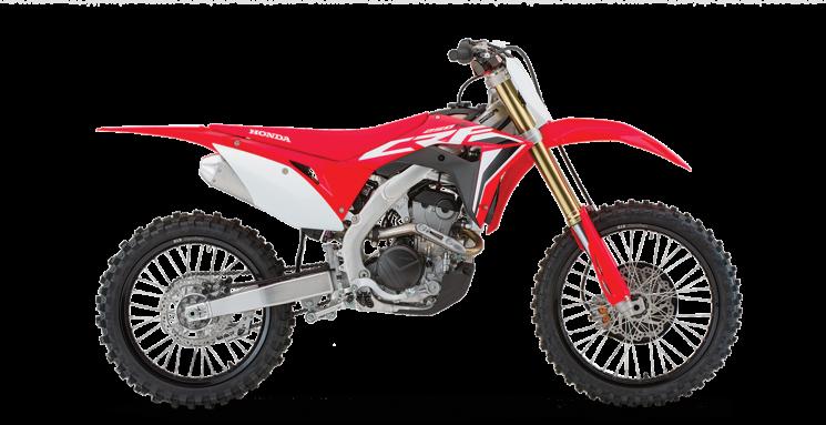 Honda CRF250R Rouge extrême 2021