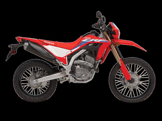 Honda CRF300L ABS Rouge extrême 2021