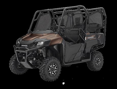 Honda Pioneer 700-4 Deluxe Brun mélasse mat métalique 2021
